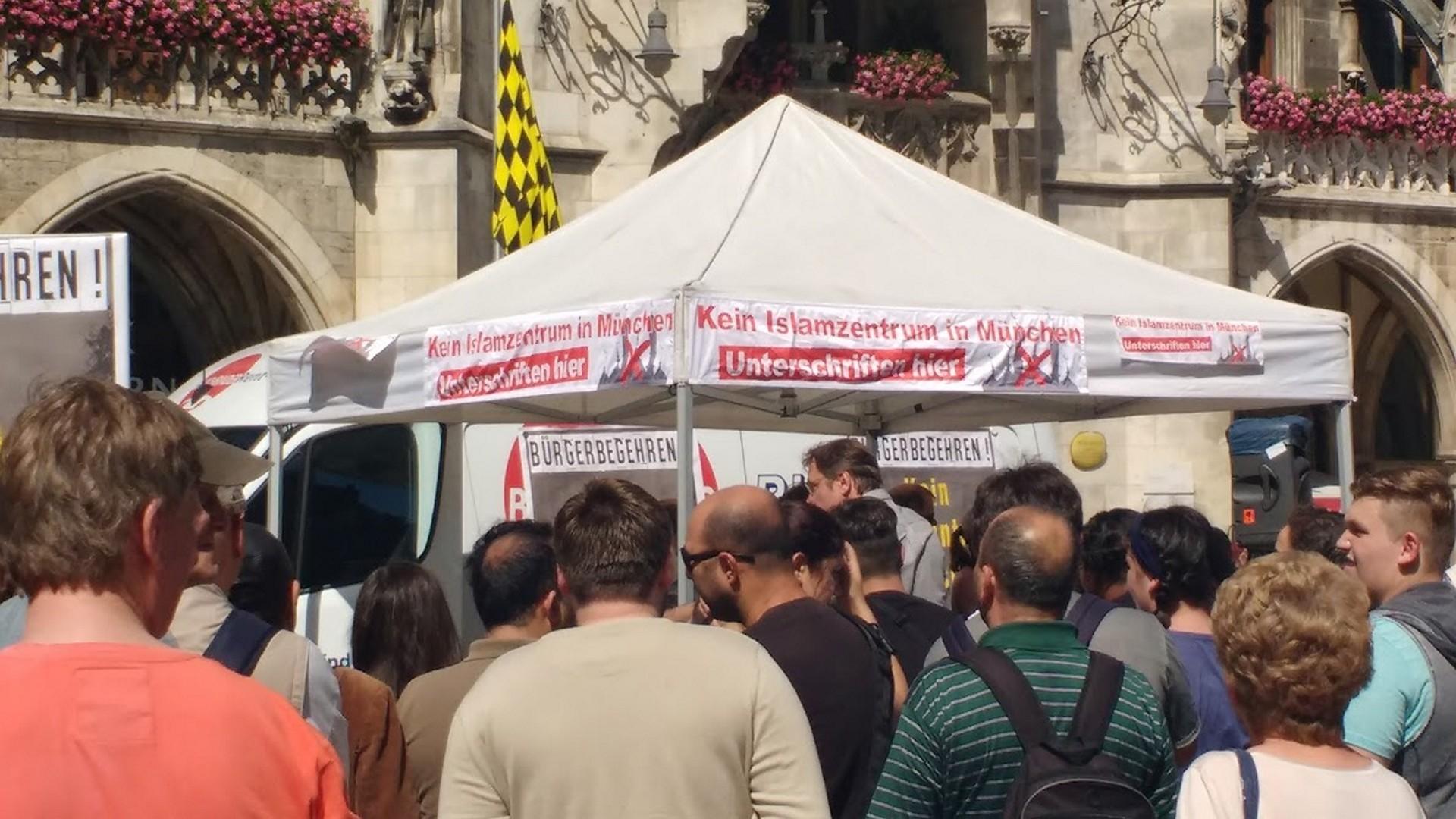 Abaixo-assinado contra centro islâmico em Munique