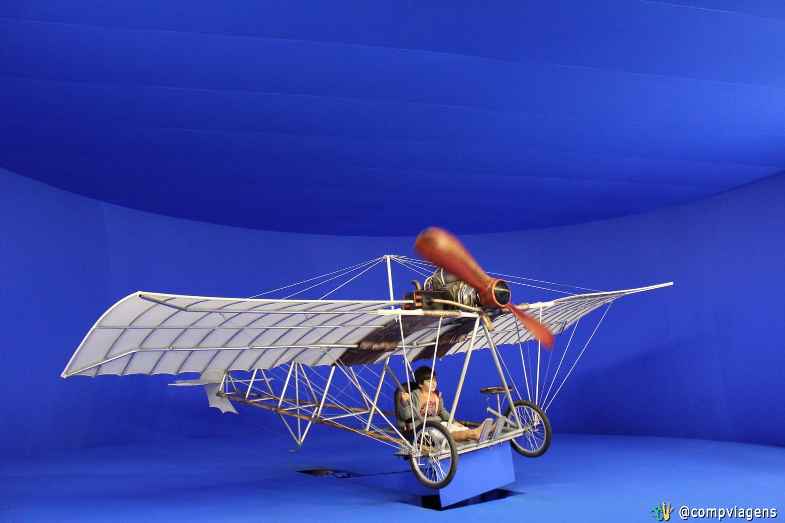 Demoiselle, onde é possível fazer um voo virtual