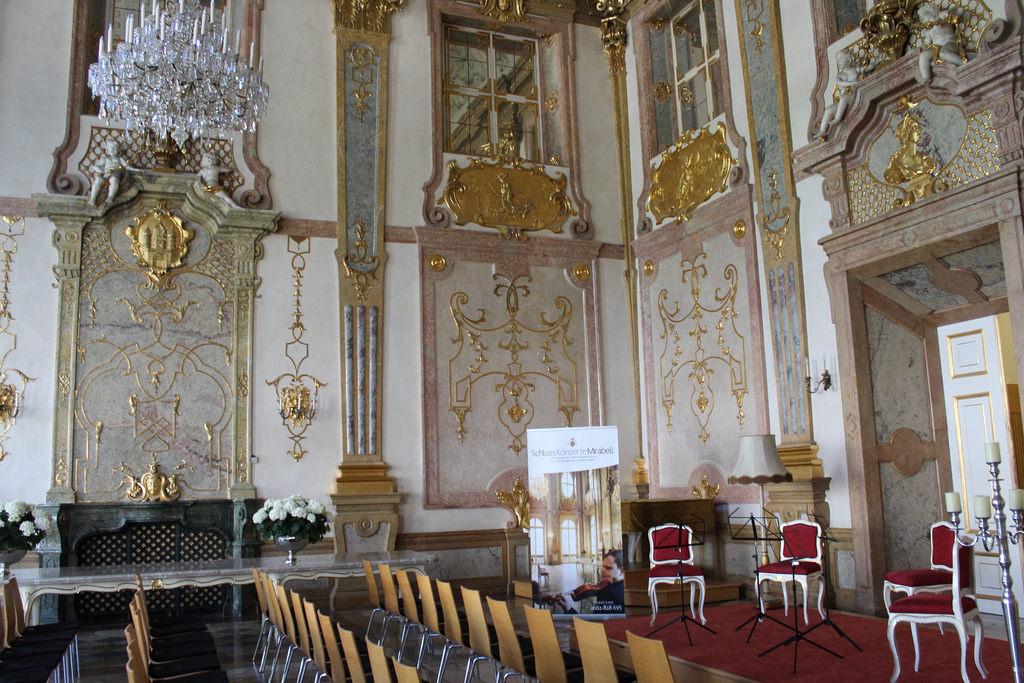 Sala de concertos do Palácio Mirabell