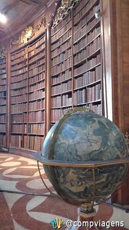 Salão principal da Biblioteca Nacional da Áustria