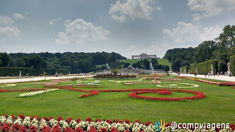 Jardins do Palácio Schönbrunn