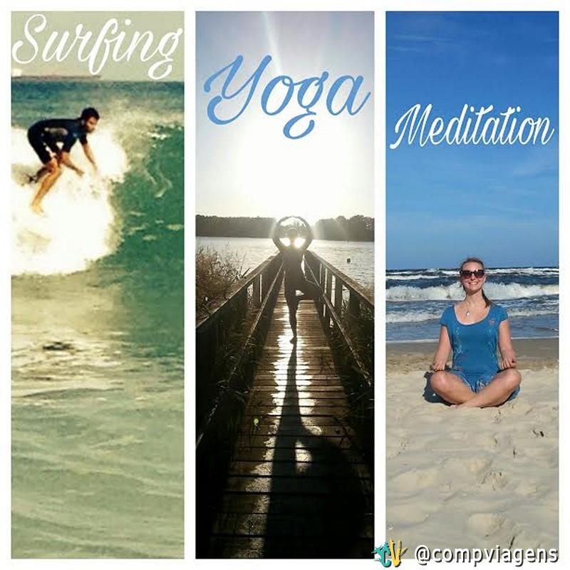 O que pretendo fazer em Bali: surf, ioga ou meditação