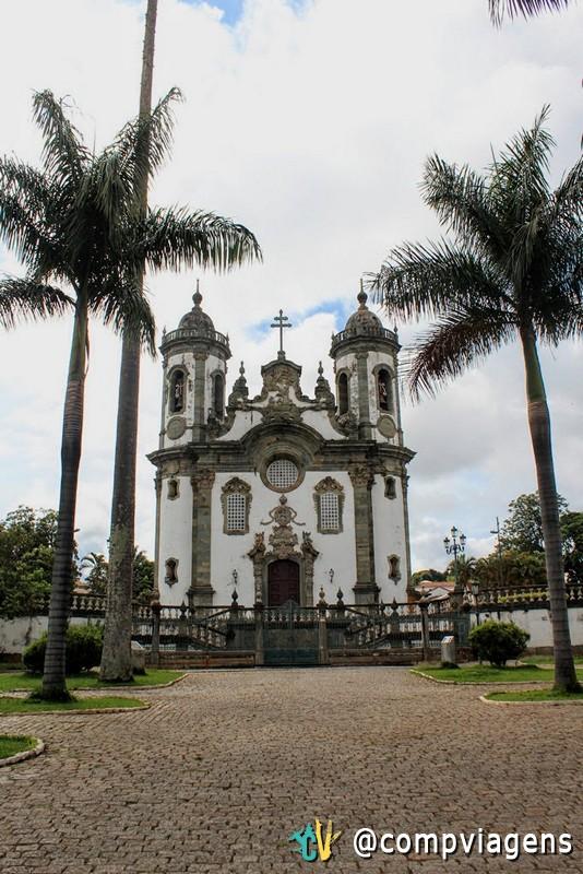Fachada da Igreja de São Francisco, em São João del Rei