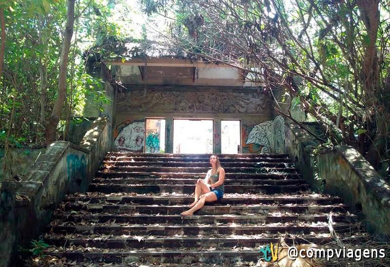 Julie no Taman Festival, em Bali