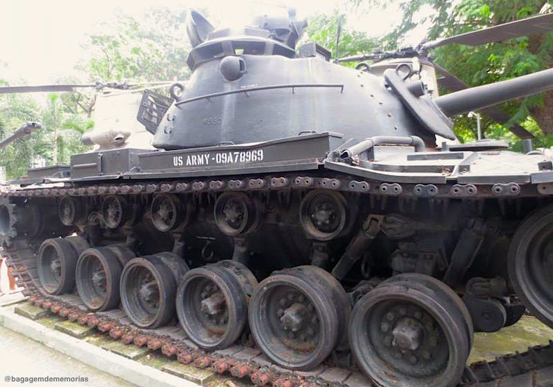 Tanque americano da Guerra do Vietnã