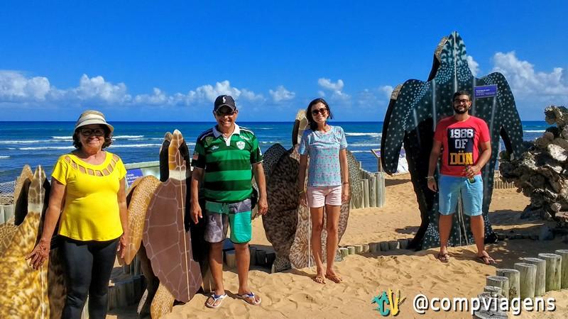 No projeto Tamar, na Praia do Forte, Bahia