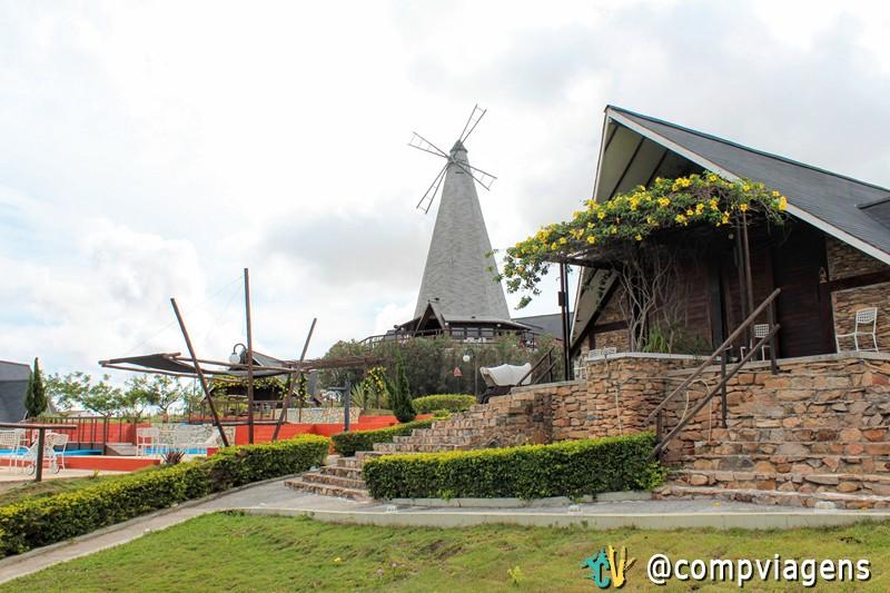A Pousada Pedra Grande é inspirada na arquitetura e cultura holandesa