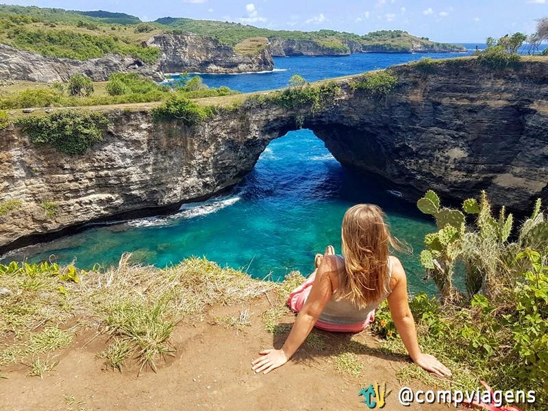 Broken Beach, em Nusa Penida, o paraíso na Terra