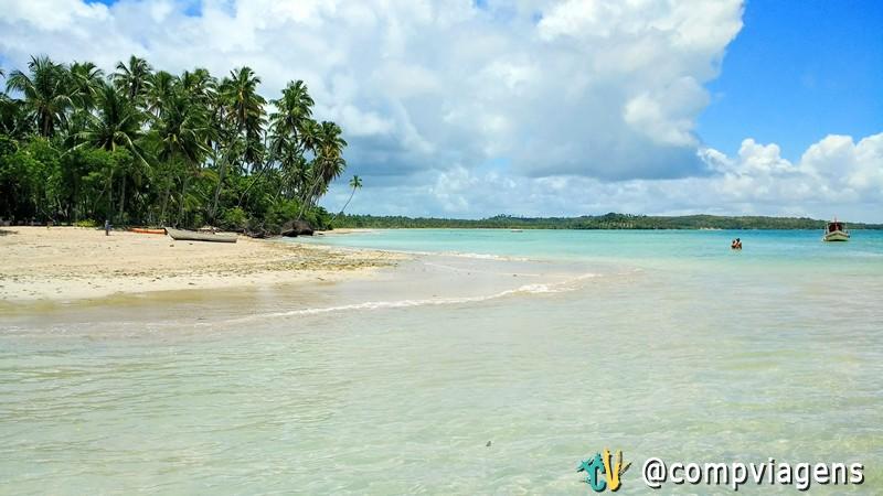 Praia de Bainema, ilha de Boipeba