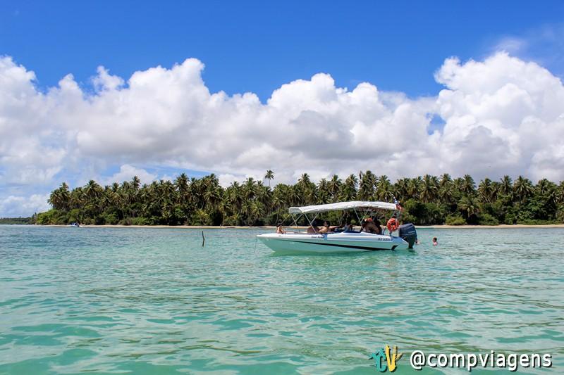 Paisagens do passeio de Volta à Ilha