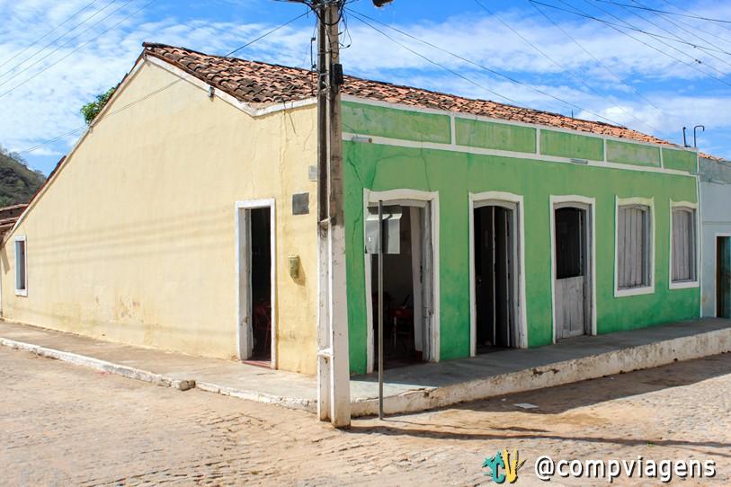 Casa onde Dom Pedro II teria se hospedado em Entremontes