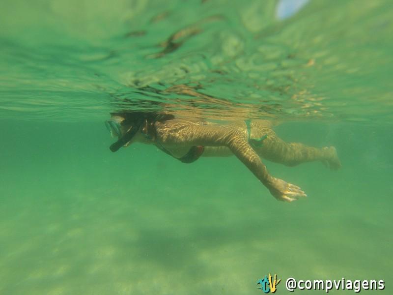 Mergulhando nas piscinas dos Castelhanos