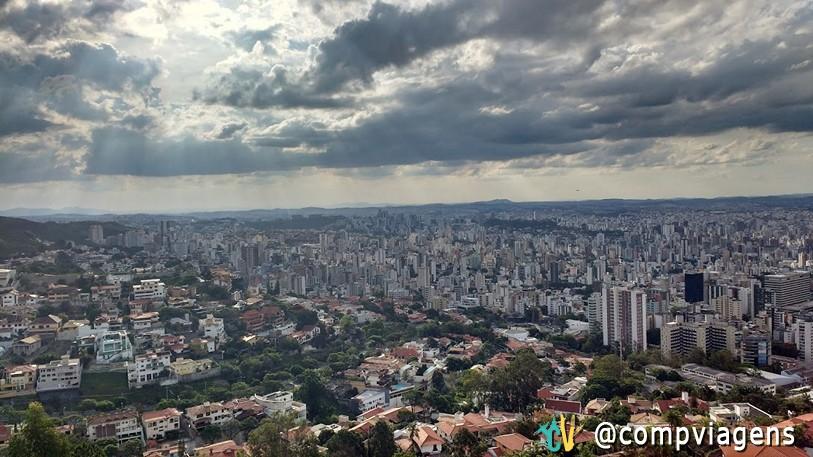 Belo Horizonte vista do Mirante do Mangabeiras