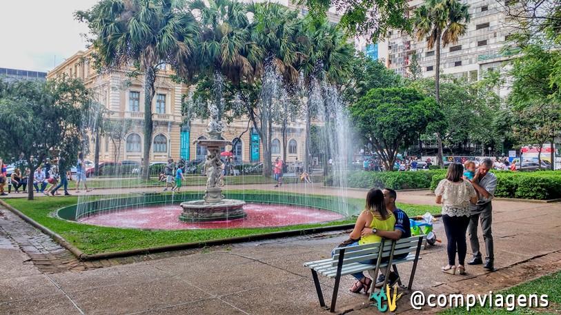 Memorial Minas Gerais, Praça da Liberdade