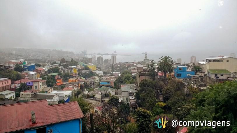 Valparaíso vista de La Sebastiana
