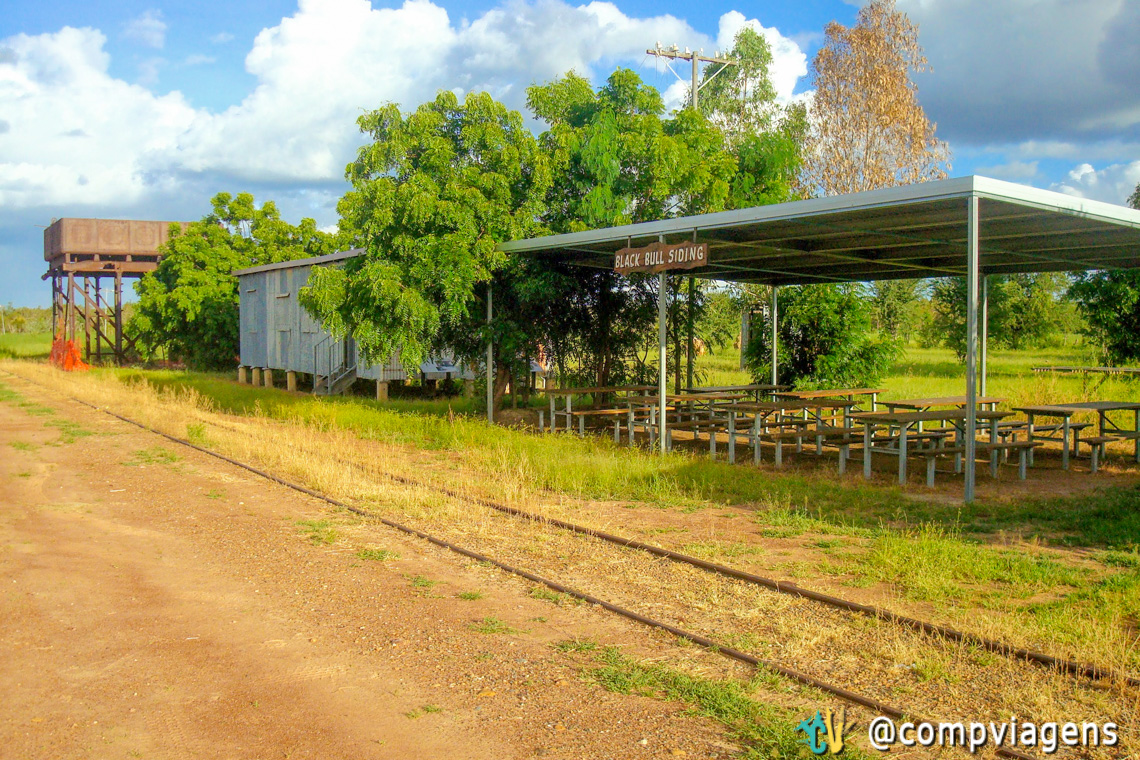 Estação de trem Black Bull