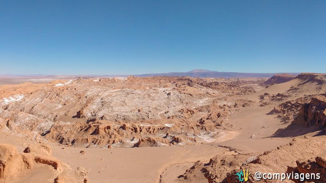 Vista para o Valle de la Luna