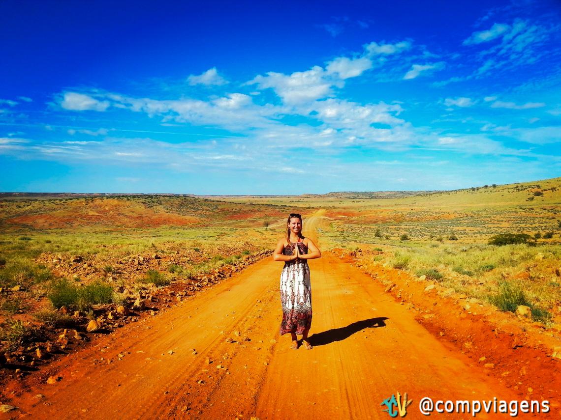 Painted Desert com suas cores incríveis