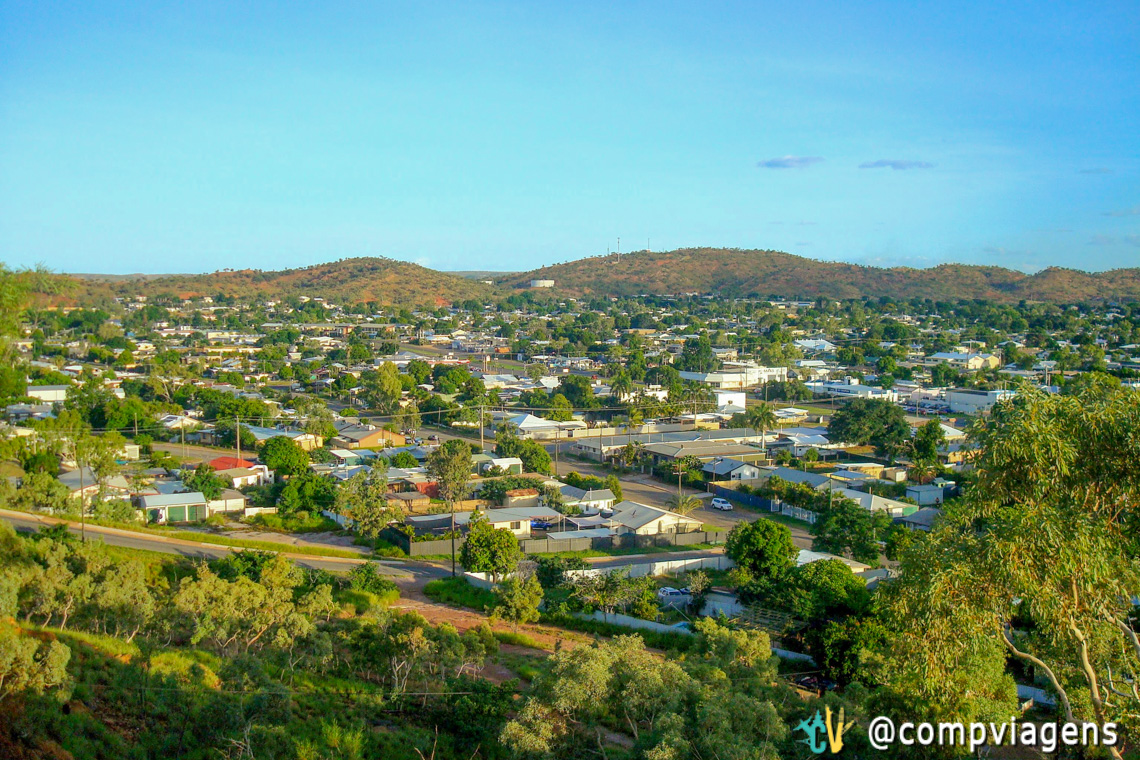 Vista do Mirante do Mount Isa