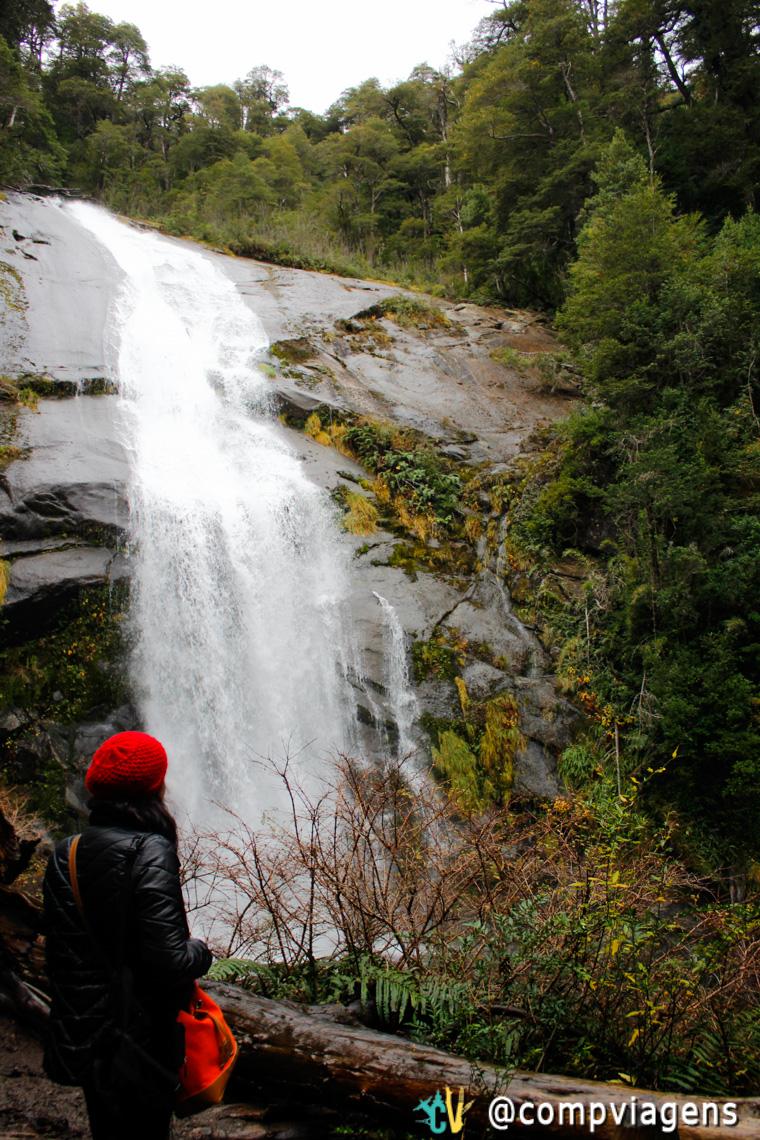 Cachoeira no Parque Huerquehue