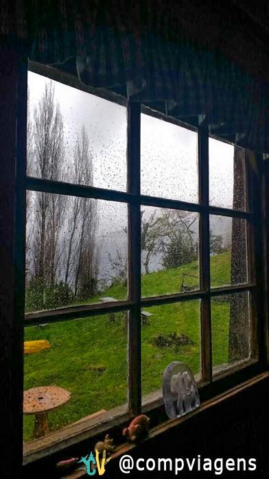 Vista da janela do Marion´s