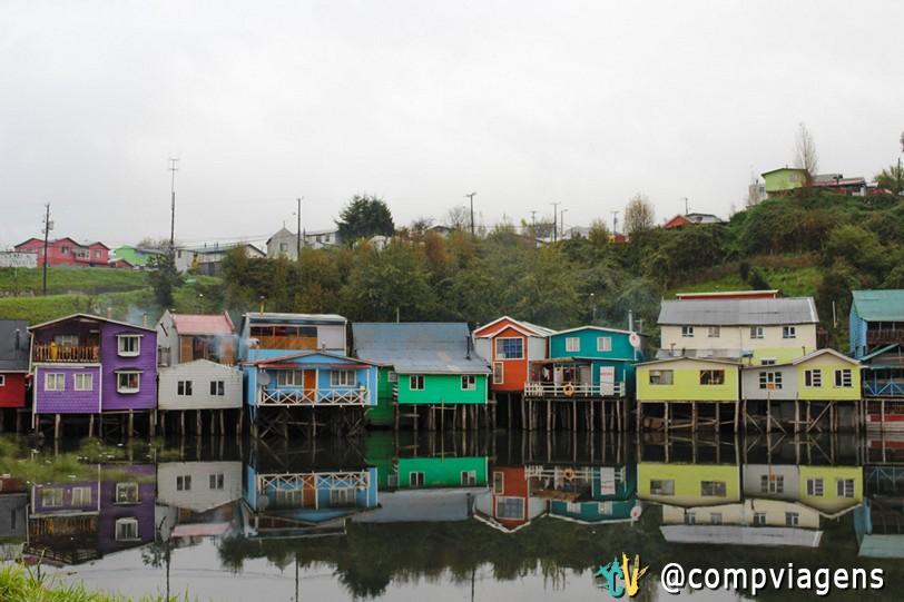 Palafitos em Chiloé