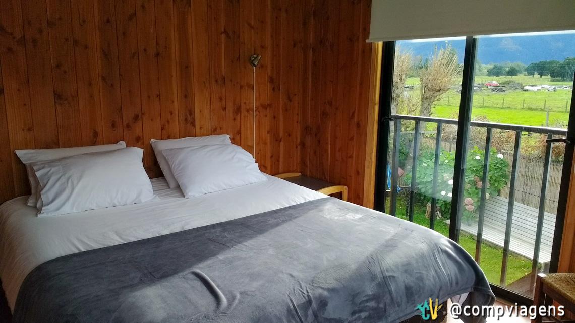 Nosso segundo quarto no Hostal French Andes