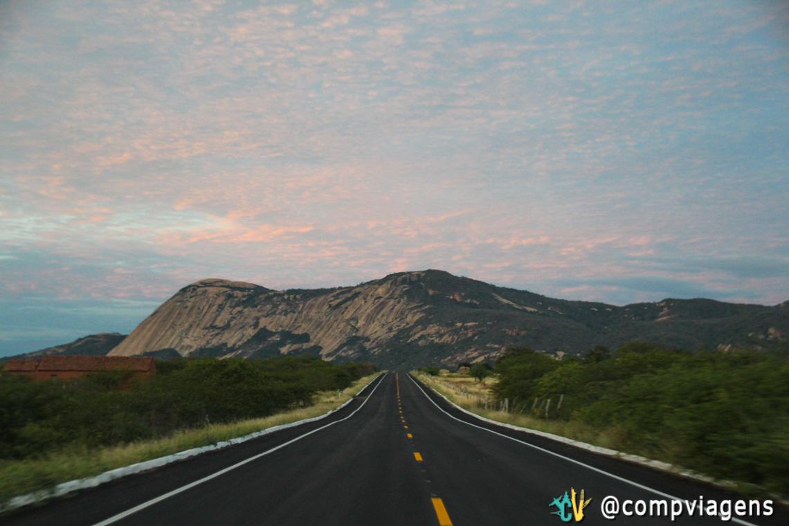 No caminho para Patu