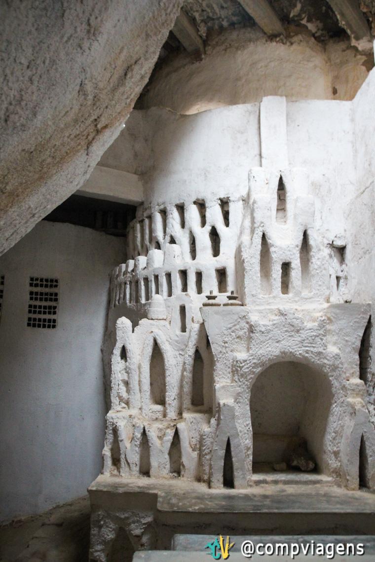 Capela dentro do castelo Zé dos Montes