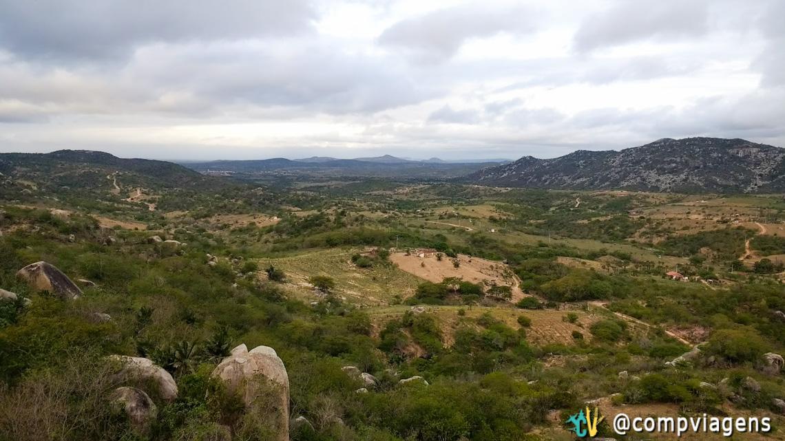 Vista do topo do castelo