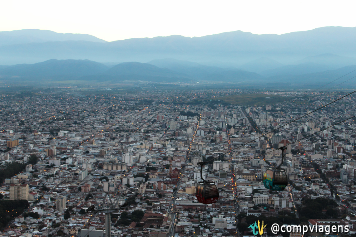 Vista do alto do Morro San Bernardo