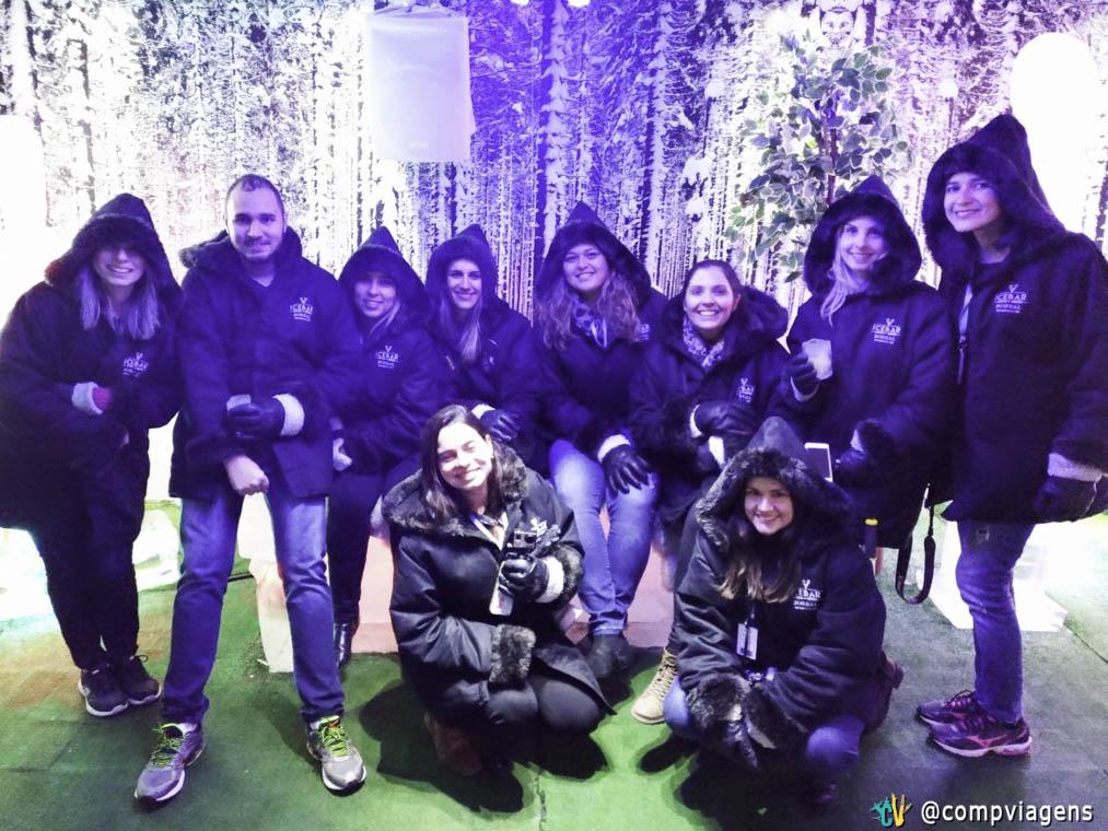 Com a turma toda dos Blogueiros em Gramado