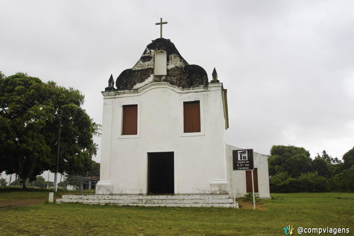 Capela de Nossa Senhora das Candeias, onde aconteceu o massacre de Cunhaú