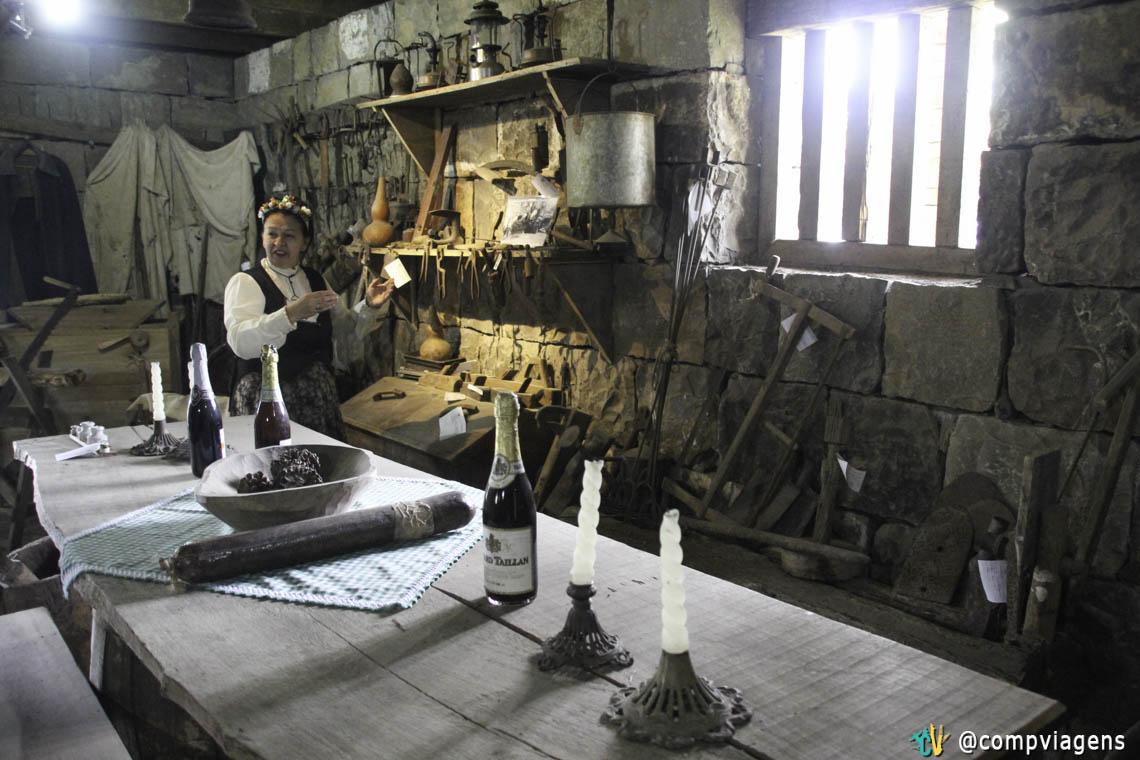 Visita ao Memorial Casa Italiana, Gramado