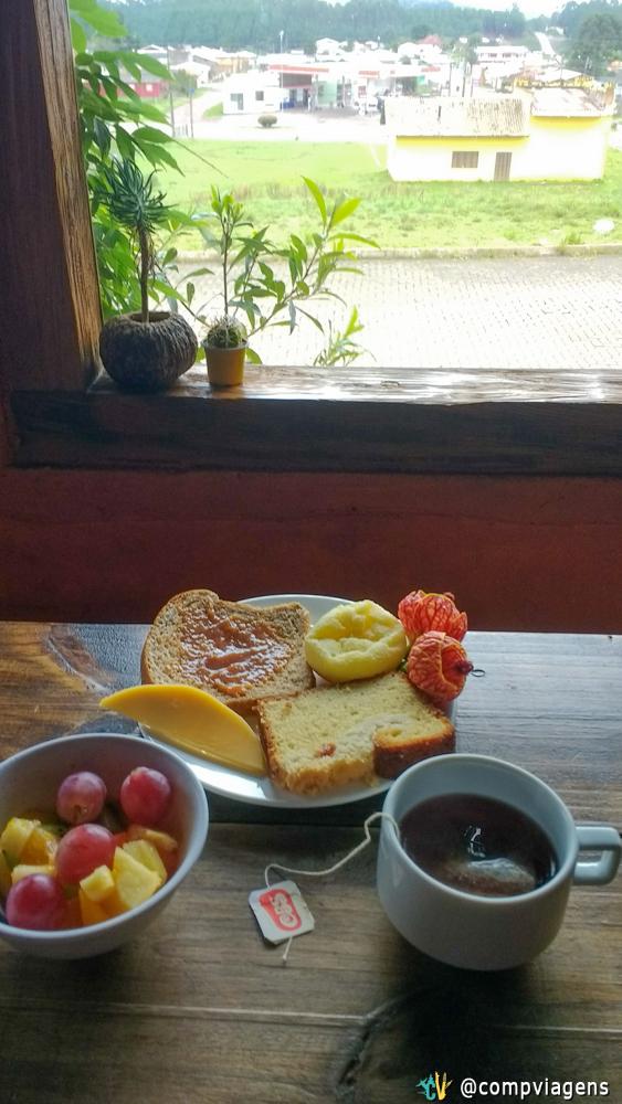 Meu café da manhã na Vila Ecológica