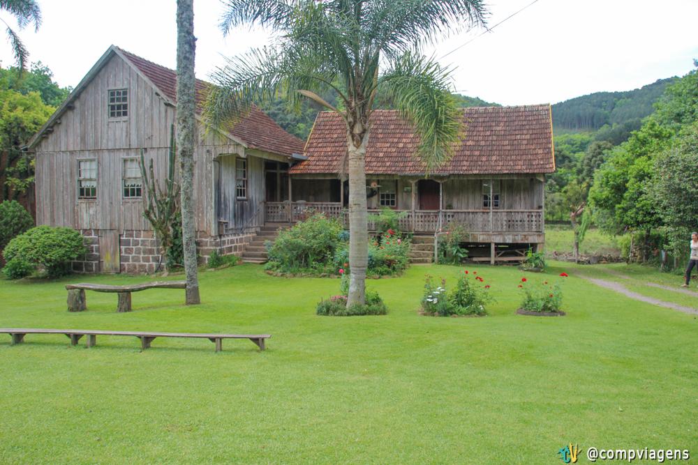 A Casa Centenária visitada no tour Raízes de Gramado