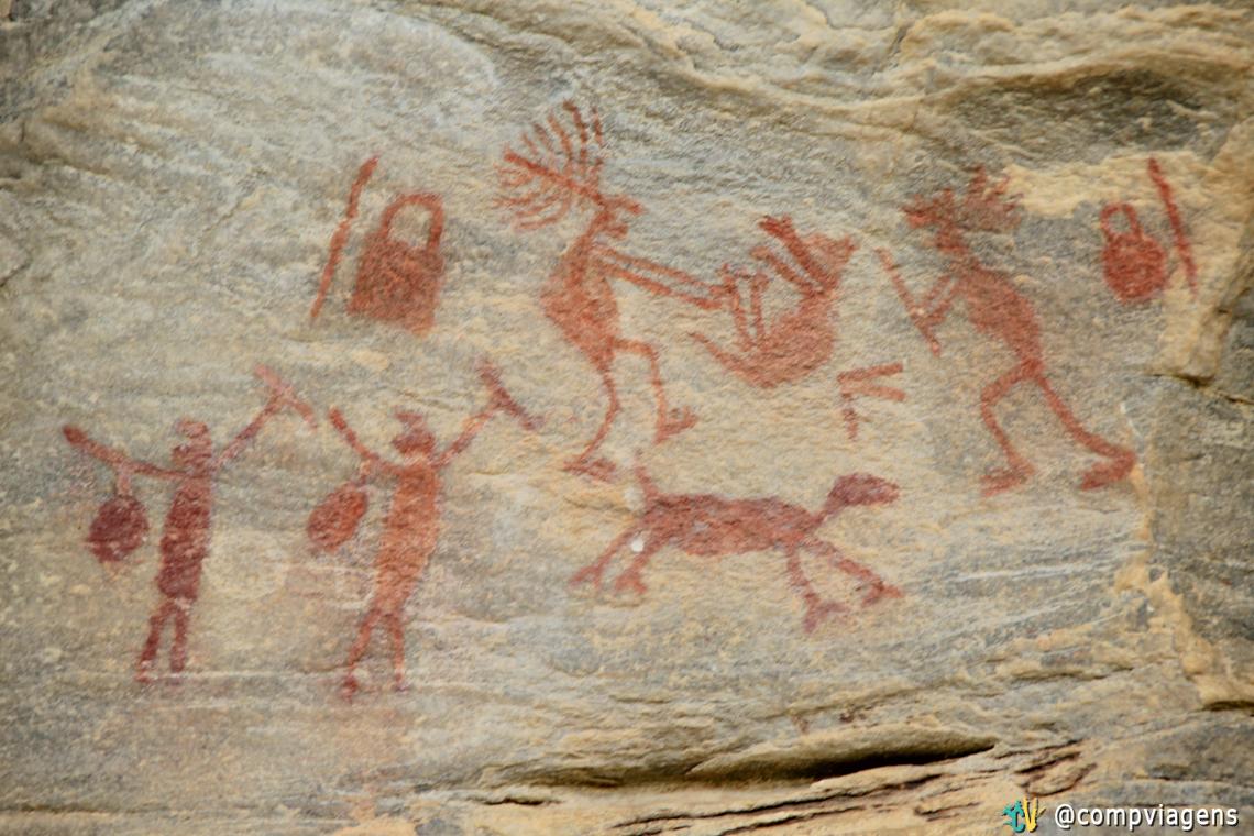 Sítio arqueológico Xique-xique, em Carnaúba dos Dantas