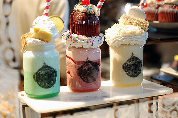 Milkshakes da The Toothsome Chocolate Emporium & Savory Feast Kitchen (Foto: Flickr | CC BY 2.0 | Becky Hood Photos)