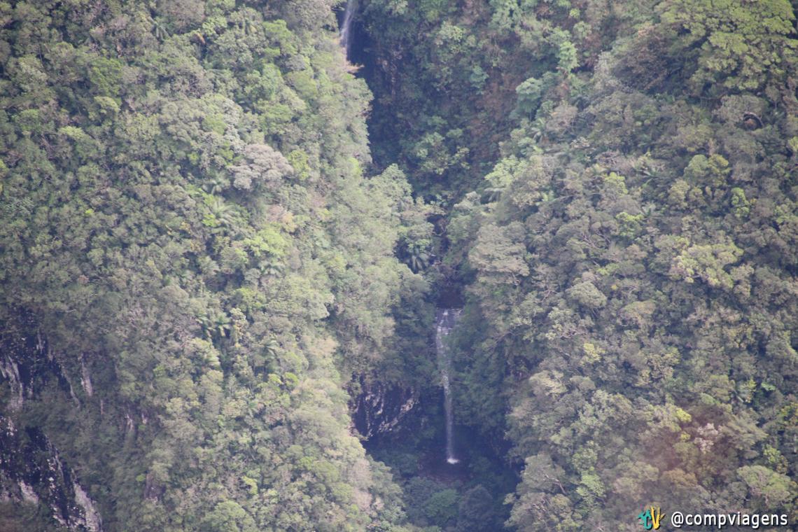 Cachoeiras nos paredões do Cânion