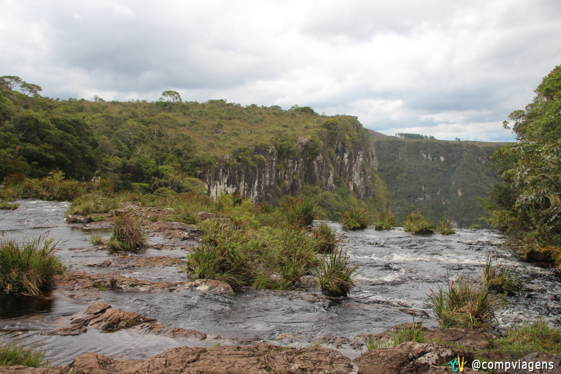 Cabeceira da Cachoeira do Tigre Preto