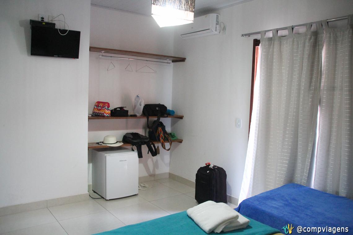 O outro lado do nosso quarto