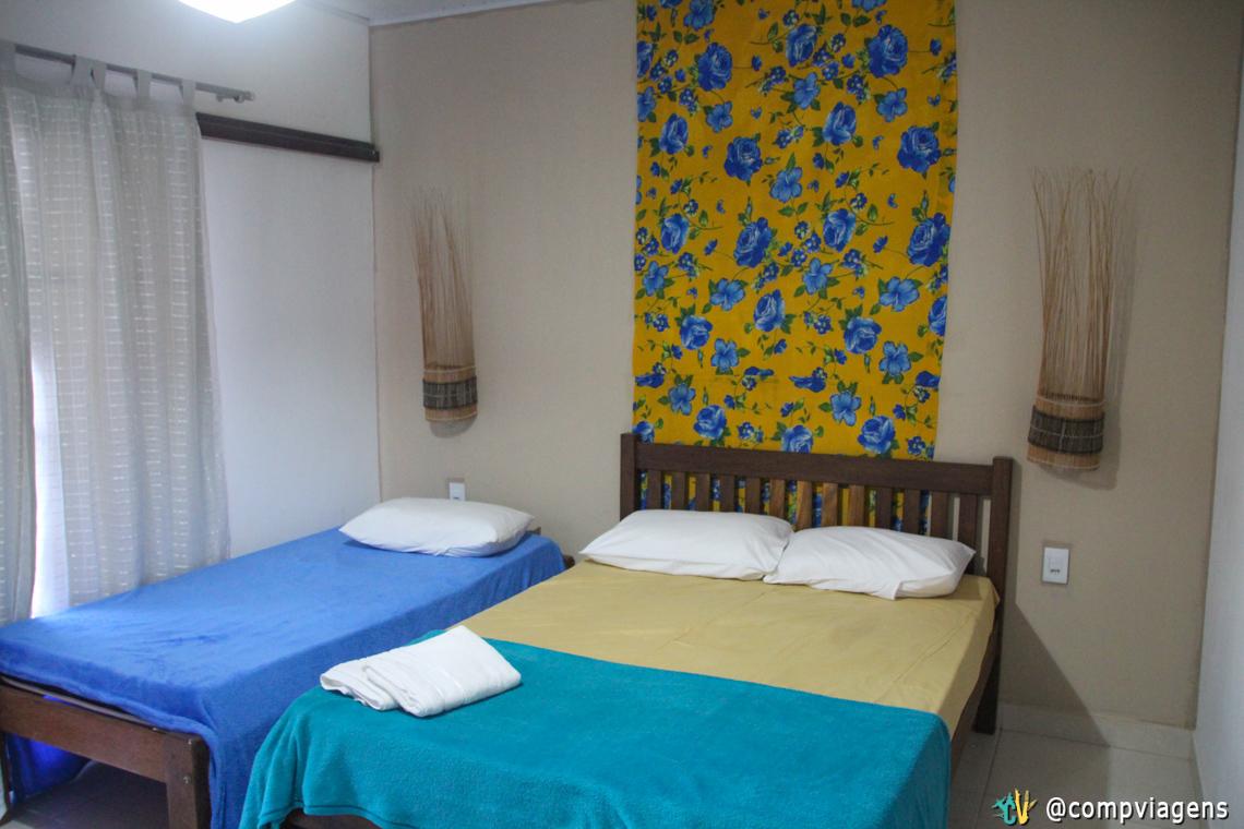 Nosso quarto na Pousada Maria Bonita