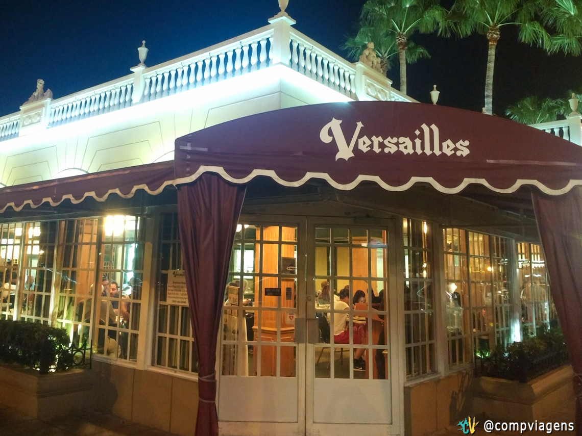 Versailles Restaurante, em Little Havana, Miami