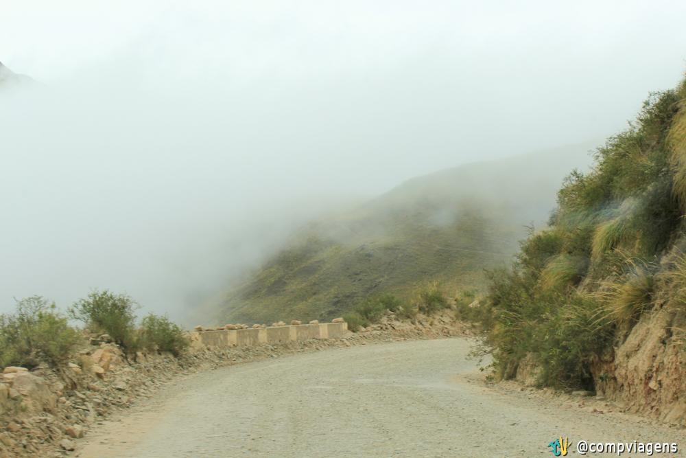 Estrada de Cachi a Salta