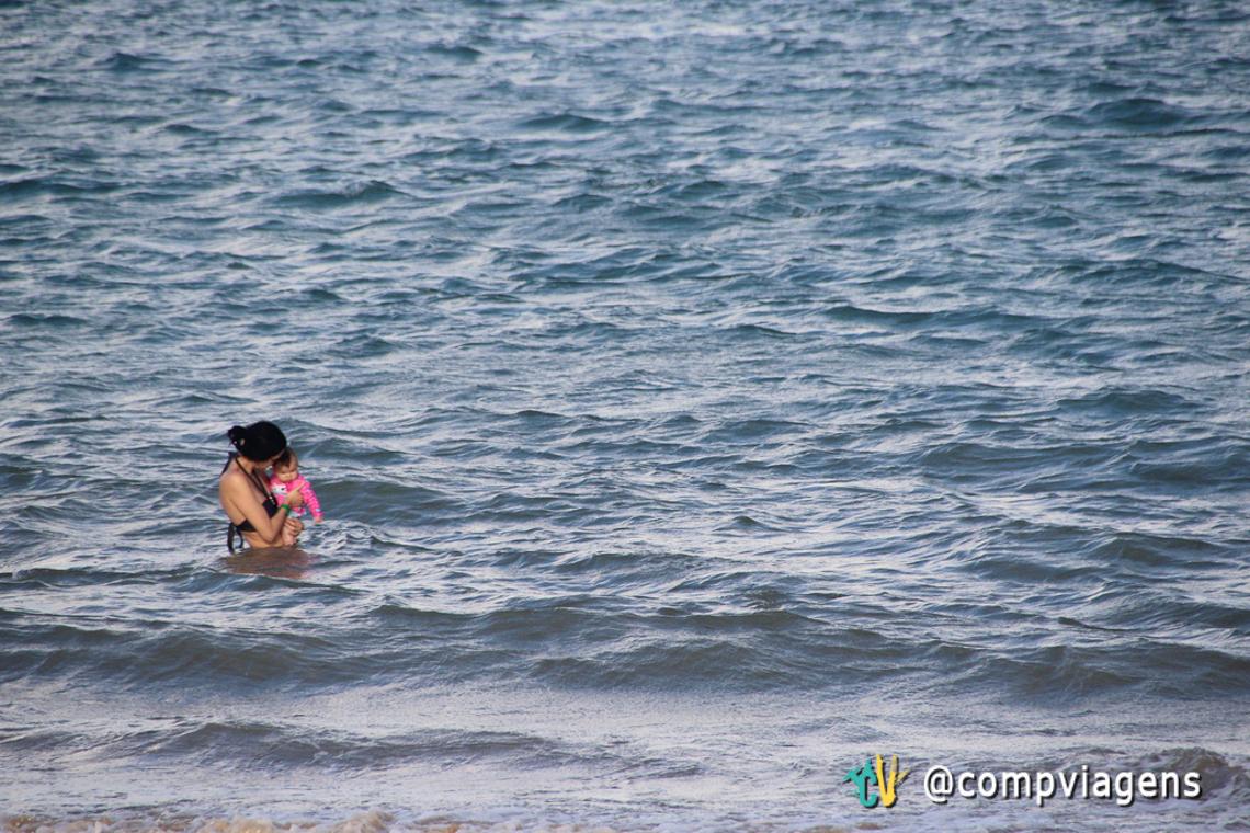 Primeiro banho de mar de Elis
