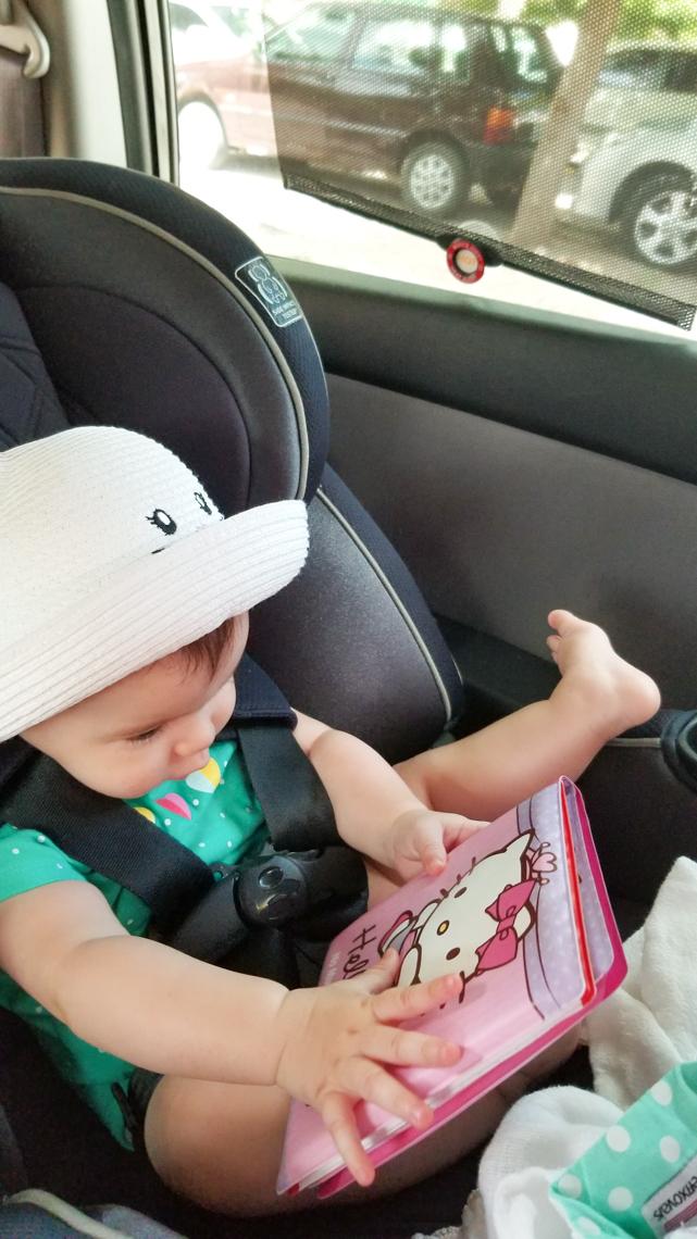 Brinquedinhos para distrair a viagem de carro não podem faltar