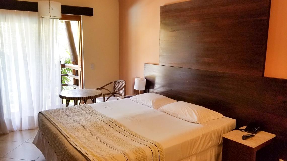 Nosso quarto (Quarto Luxo) no Praia Bonita Resort