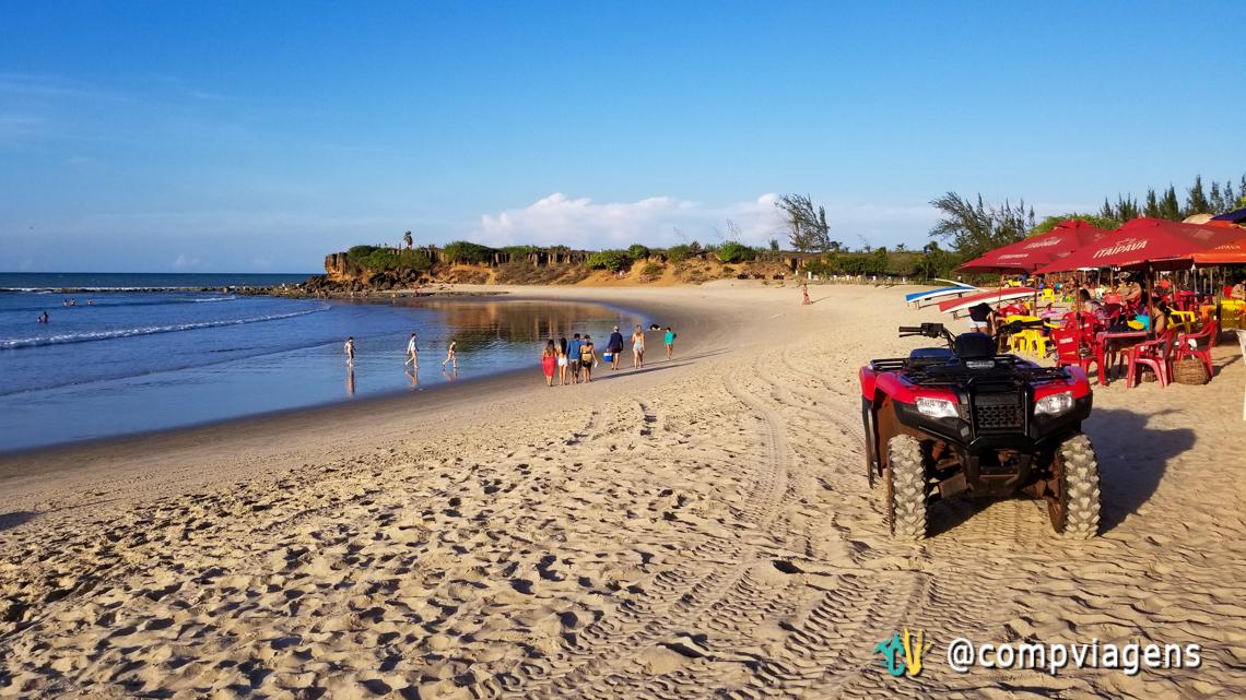Praia de Tourinhos nos fins de semana