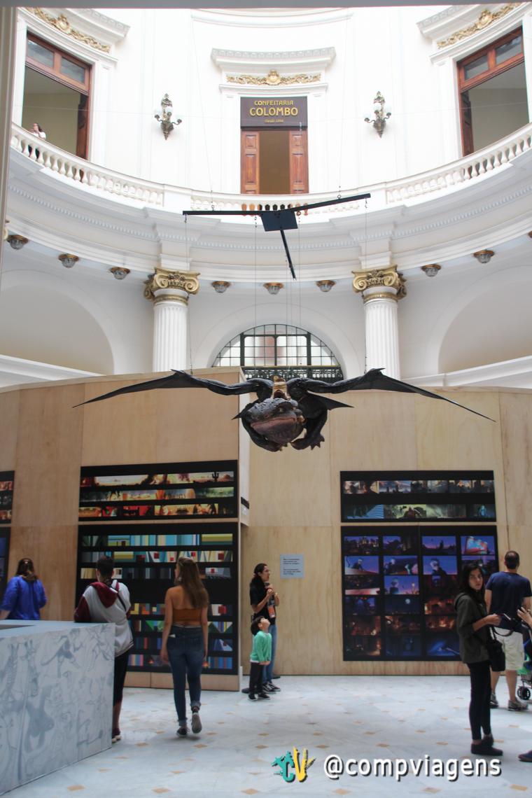 O Voo do Dragão é o destaque da exposição