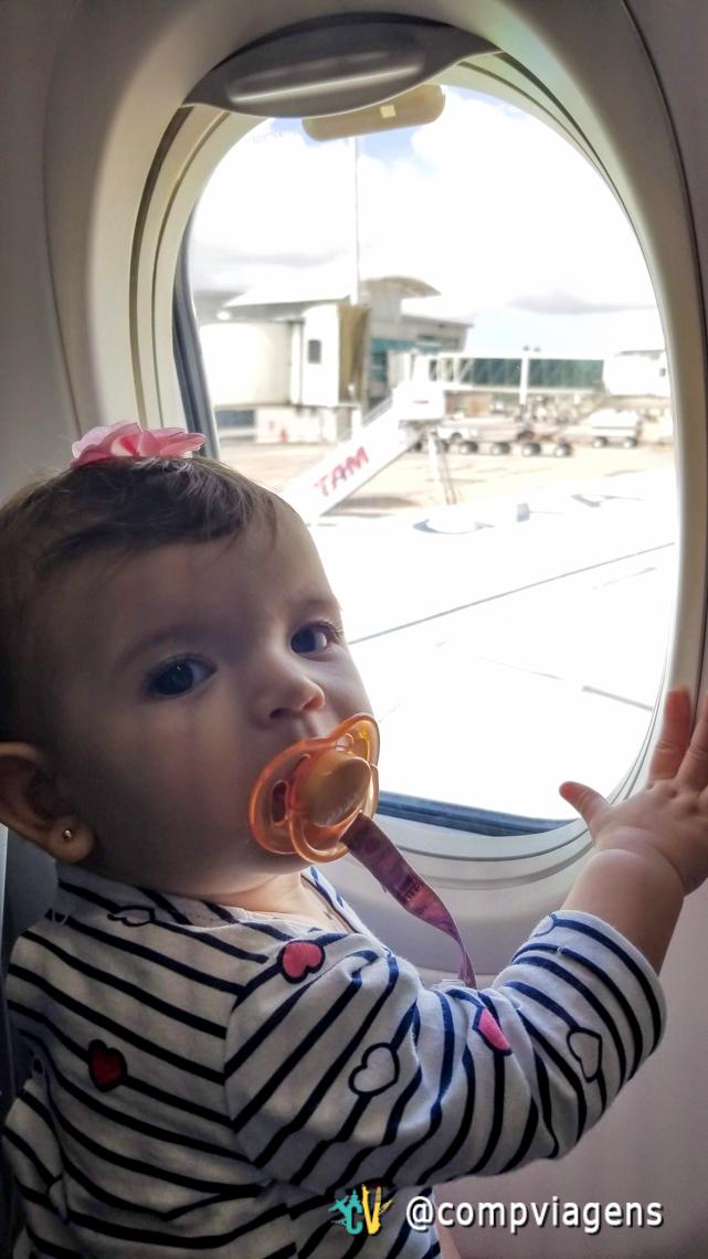 Primeira viagem de avião de Elis